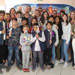 """Εργαζόμενοι και συντελεστές του ΑΝΤ1 δίπλα στα παιδιά της """"Κιβωτού του Κόσμου"""""""