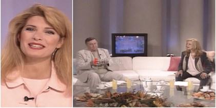 <span class=exclusivetitle4>Ελένη Μενεγάκη: Όταν είχε καλεσμένους την Αλίκη Βουγιουκλάκη και τον Δημήτρη Παπαμιχαήλ στον Πρωινό Καφέ!</span>