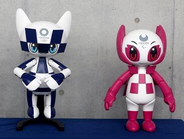 Μασκότ - ρομπότ για τους Ολυμπιακούς Αγώνες του Τόκιο το 2020