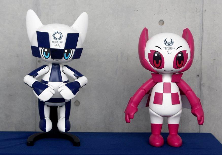 d2ef25345af Μασκότ - ρομπότ για τους Ολυμπιακούς Αγώνες του Τόκιο το 2020 | fthis.gr