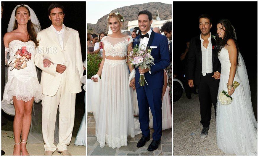 2b3ebacc2f95 9 + 1 αξέχαστοι γάμοι της ελληνικής showbiz