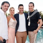 """Ο ανανεωμένος πολυχώρος """"ACEclub4Tennis"""" στην Παλλήνη υποδέχτηκε το καλοκαίρι με ένα λαμπερό pool party!"""