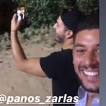Παναγιώτης Θεόφιλος: Το βίντεο που τράβηξε με τον Πάνο Ζάρλα έναν χρόνο πριν