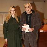 Γιώργος Βογιατζής: Σπάνια δημόσια έξοδος με την κατά 35 χρόνια νεότερή σύζυγό του