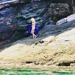 Στην Τήνο η Ελένη Μενεγάκη! Δείτε φωτογραφίες από τις διακοπές στο κυκλαδίτικο νησί