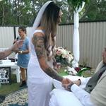 Παντρεύτηκε τον άρρωστο άνδρα της μία ημέρα πριν πεθάνει από καρκίνο