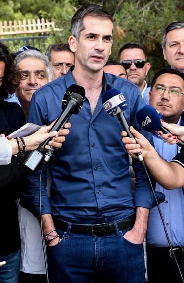 Εκλογές 2019: Γιατί ο Κώστας Μπακογιάννης δεν ψήφισε... τον εαυτό του