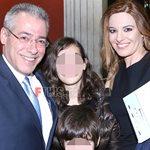 Νίκος Μάνεσης - Φαίη Μαυραγάνη: Σπάνια δημόσια εμφάνιση με τα δυο παιδιά τους