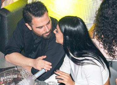 Γιώργος Παπαδόπουλος - Γαλάτεια Βασιλειάδη: Βάφτισαν τον 9 μηνών γιο τους στην Κύπρο