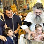 Στέλιος Χανταμπάκης - Όλγα Πηλιάκη: Βάφτισαν τη 2,5 ετών κόρη τους