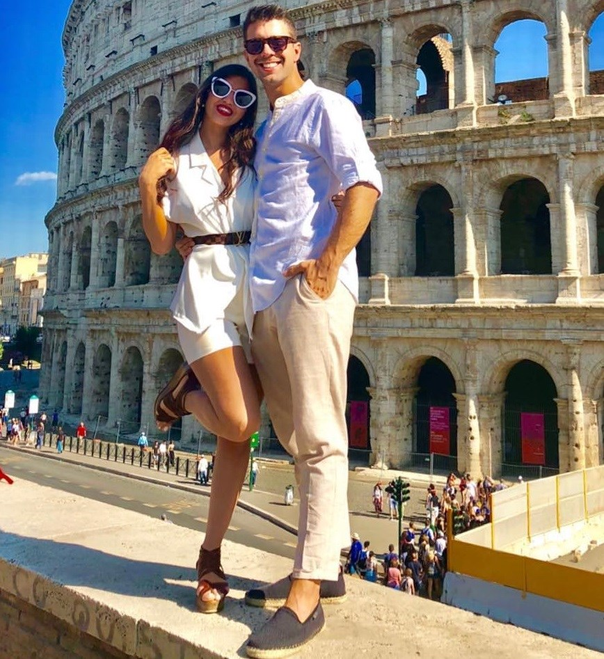 Σωκράτης Ελ Γκαμαλί - Κυριακή Τσανικίδη: Δείτε φωτογραφίες από το ρομαντικό ταξίδι τους στη Ρώμη!