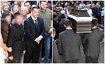 Το τελευταίο αντίο στην Αναστασία Σδούγκου: Δείτε φωτογραφίες από την κηδεία της συζύγου του Πύρρου Δήμα