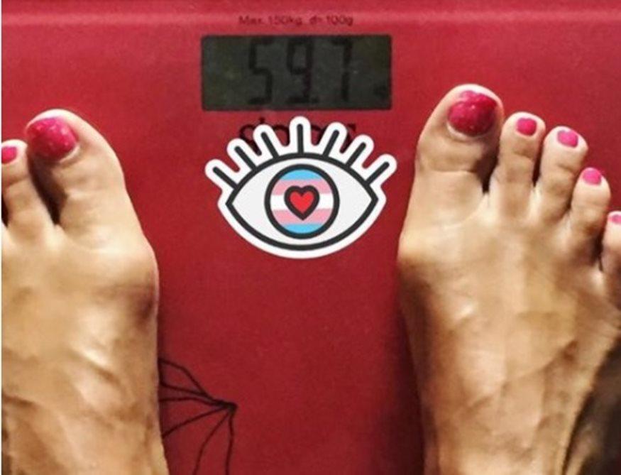 Γνωστή Ελληνίδα ανέβηκε στη ζυγαριά και μας δείχνει πόσο ζυγίζει!