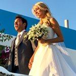 Νέες φωτογραφίες από τον γάμο της Δούκισσας Νομικού με τον Δημήτρη Θεοδωρίδη!