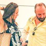 Paparazzi! H Νικολέτα Καρρά για ψώνια με τον σύζυγό της χωρίς ίχνος μακιγιάζ!
