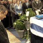Θλίψη στην κηδεία του Κωνσταντίνου Μητσοτάκη: Εκατοντάδες Χανιώτες τον συνόδευσαν στην τελευταία του κατοικία