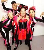 Νέτα Μπαρζιλάι: Η νικήτρια της Eurovision 2018 ποζάρει με τη σωσία της