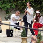 Paparazzi: Σπάνια εμφάνιση της Τάμτα με τον Πάρι Κασιδόκωστα και την κόρη της, Άννυ