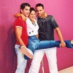 Άκρως Οικογενειακόν: Τα τρία αδέρφια της σειράς του ANT1 ποζάρουν μαζί 15 χρόνια μετά