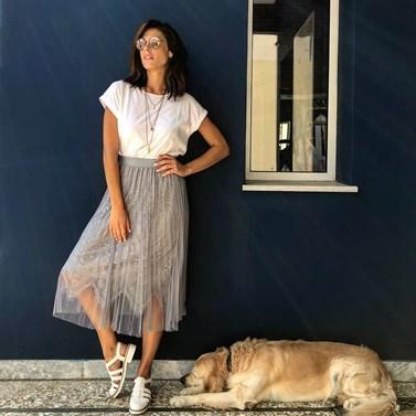 Η Ιωάννα Τριανταφυλλίδου γιόρτασε τα γενέθλιά της χωρίς τον Πάνο Βλάχο στο πλευρό της