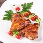 Φτερούγες κοτόπουλου με σκόρδο