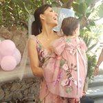 Ιδιαίτερη μέρα για τη Σίσσυ Φειδά και την ενός έτους κορούλα της!