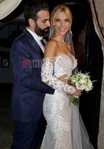 Μαντώ Γαστεράτου - Νίκος Ισηγόνης: 20+1 φωτογραφίες από τον παραμυθένιο γαμο τους στην Ανάβυσσο!