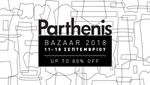 O οίκος Parthenis σας προσκαλεί σε ένα από τα μεγαλύτερα BAZAAR  του στο κατάστημα του Κολωνακίου