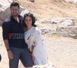 Paparazzi: Ο Γιάννης Τσιμιτσέλης και η Κατερίνα Γερονικολού σε κοινή τους έξοδο στην παραλία