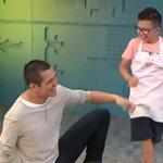 Ο Σωτήρης Κοντιζάς εισέβαλε στο MasterChef Junior! Η απίστευτη αντίδραση των παιδιών