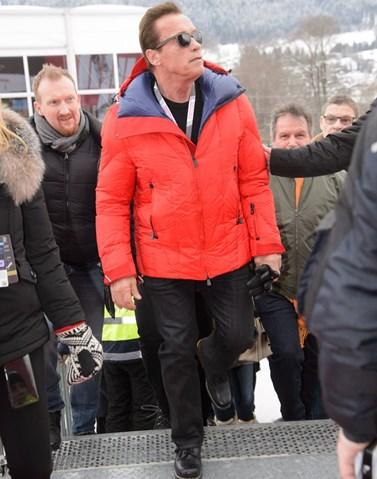 Απίστευτη επίθεση από άγνωστο άνδρα στον Άρνολντ Σβαρτσενέγκερ