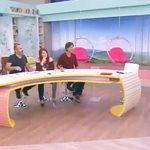 Ελένη Μενεγάκη: Το απρόοπτο on air, το μάτι και το... φιλάκι σε συνεργάτη της!