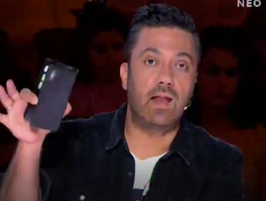 """Γιώργος Θεοφάνους σε διαγωνιζόμενο του X-Factor: """"Μ' αρέσει που δεν μου έστειλες ένα μήνυμα ότι θα έρθεις"""""""
