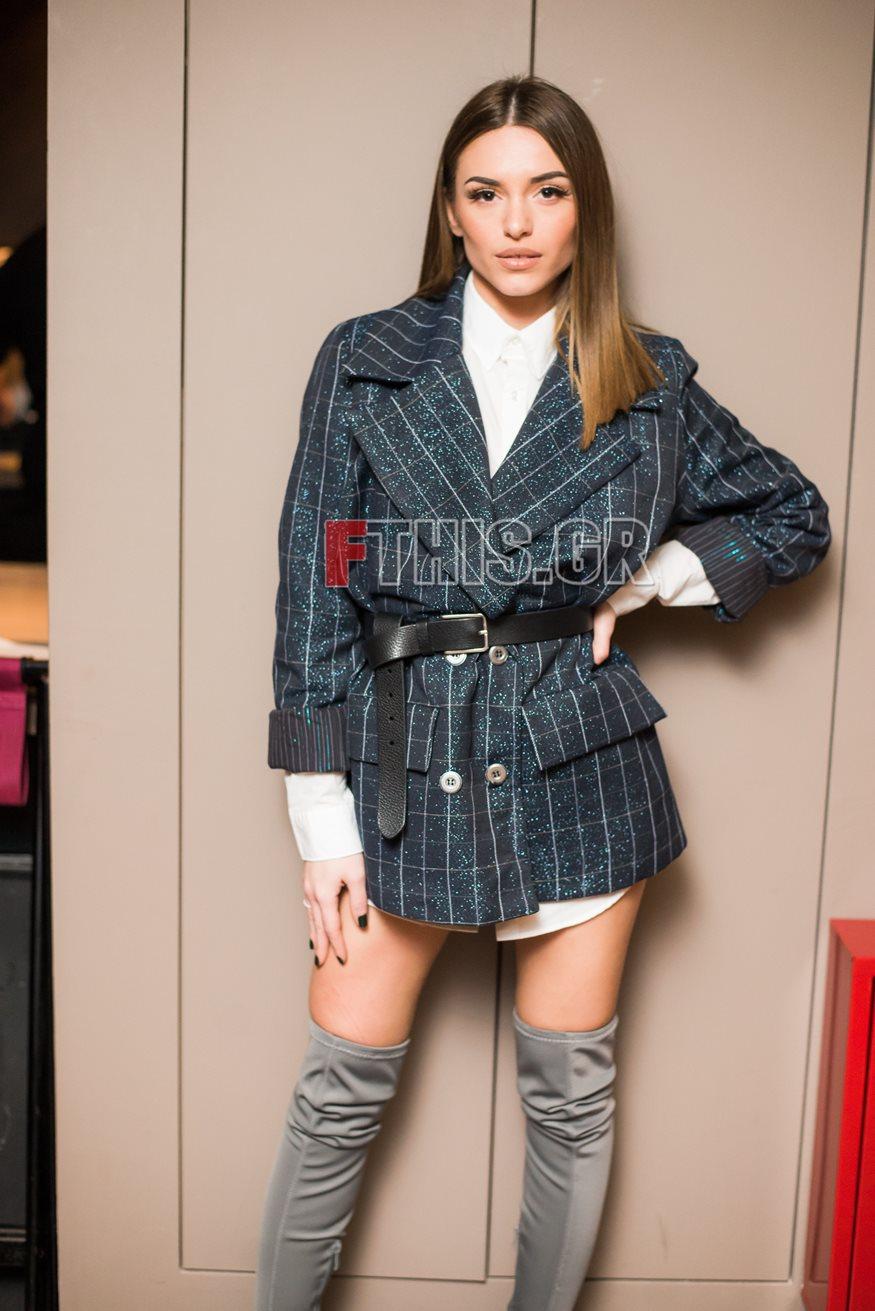 Ιωάννα Σιαμπάνη: Βραδινή έξοδος για την πρώην παίκτρια του My Style Rocks και τον σύντροφό της
