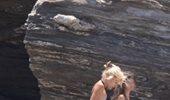 Paparazzi! Ελένη Μενεγάκη: Στην παραλία με την κόρη της, Βαλέρια