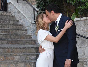 Τζένη Μπαλατσινού: Οι πρώτες δηλώσεις για τον γάμο της με τον Βασίλη Κικίλια