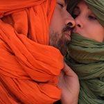 Μαρία Κορινθίου - Γιάννης Αϊβάζης: Έπεσαν σε αμμοθύελλα στην έρημο του Μαρόκου