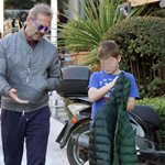 Family moments! Ο Πέτρος Κωστόπουλος με τον γιο του, Μάξιμο
