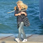 Επαγγελματικό ταξίδι για την Ελένη Μενεγάκη: Δείτε από ποιο μέρος της Ελλάδας πόζαρε