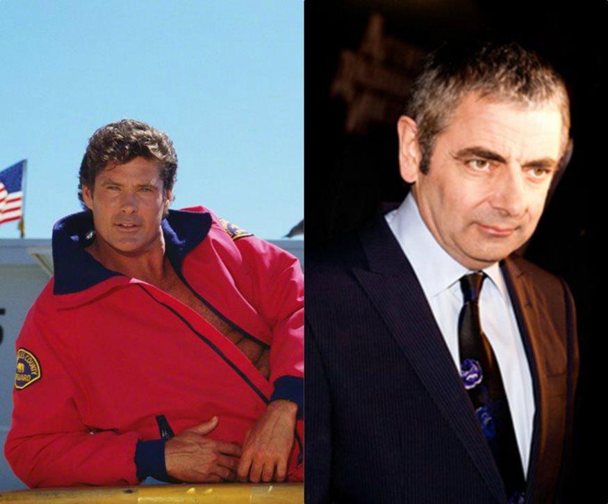 Στην Ελλάδα οι Rowan Atkinson και David Hasselhoff