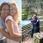 Σαββατοκύριακο στην Λευκάδα για την Ελένη Μενεγάκη και τον Μάκη Παντζόπουλο; Δείτε φωτογραφίες