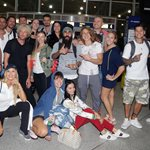 Nomads: Δείτε τους παίκτες στο αεροδρόμιο λίγο πριν αναχωρήσουν για Μαδαγασκάρη!