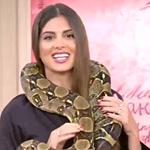 GNTM: Η Σταματίνα Τσιμτσιλή έκανε on air την φωτογράφηση με τα φίδια