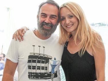 Γρηγόρης Γκουντάρας: Η συγκινητική δημόσια εξομολόγηση στη σύζυγό του