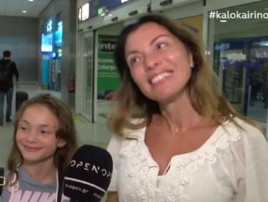 Αλεξάνδρα Πασχαλίδου: Ήρθε στην Ελλάδα για να βαφτίσει την κόρη της