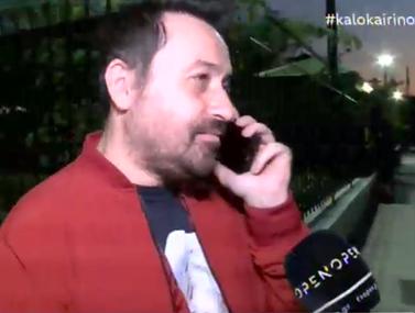 Θέμης Γεωργαντάς: Τηλεφώνησε on camera στον Γιώργο Λιάγκα και τον ρώτησε για την εκπομπή του στον ΣΚΑΪ