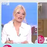 Φαίη Σκορδά: Τα on air συγχαρητήρια για την εκλογή του Στέλιου Κυμπουρόπουλου