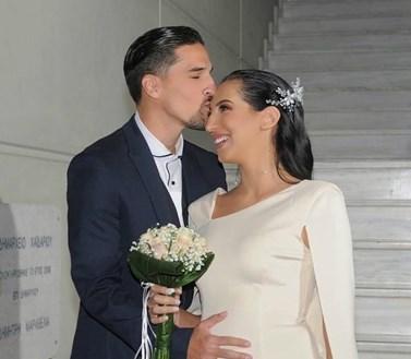 Σοφία Λεοντίτση – Μιχάλης Κατσίκιας: Δείτε το φωτογραφικό άλμπουμ του γάμου τους
