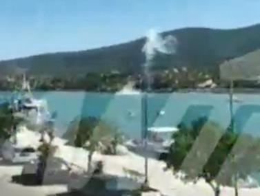 Βίντεο-ντοκουμέντο με την στιγμή της συντριβής του ελικοπτέρου στον Πόρο