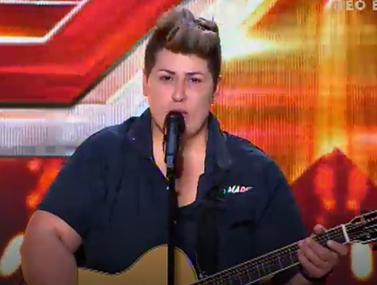 H χασάπισσα που συγκίνησε τους κριτές του X-Factor